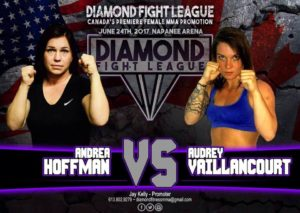 Diamond Fight League Andrea Hoffman