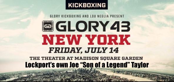 July 14 Glory Boxing 43 Madison Square Garden Joe Taylor
