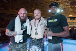 Dan Mayer - Ground Force Fights - First Round TKO