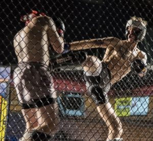 Mitch Ryberg - Rage in the Cage Debut K1 Win - WNYMMA