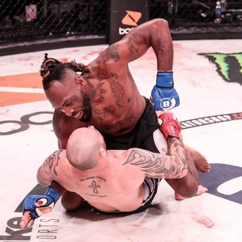 "TJ ""The Hyttman"" Sumler - Bellator 182"