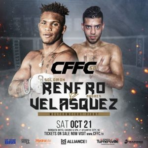 "Solomon ""The Black Dragon"" Renfro - CFFC Atlantic City"