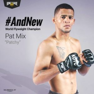 "Patchy ""No Love"" Mix - King of the Cage Flyweight Champion - WNYMMA"