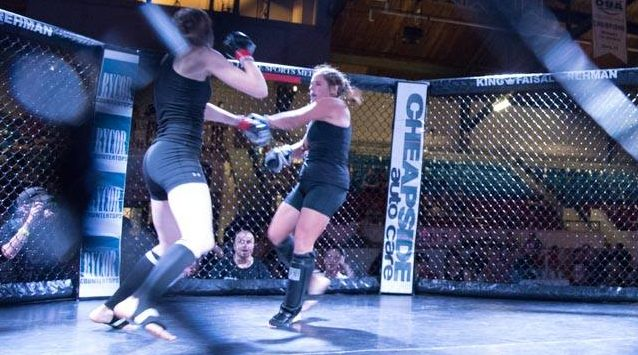 Kristin MMA Fight