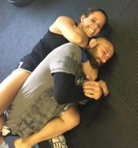 Self-defense Rear Naked Choke