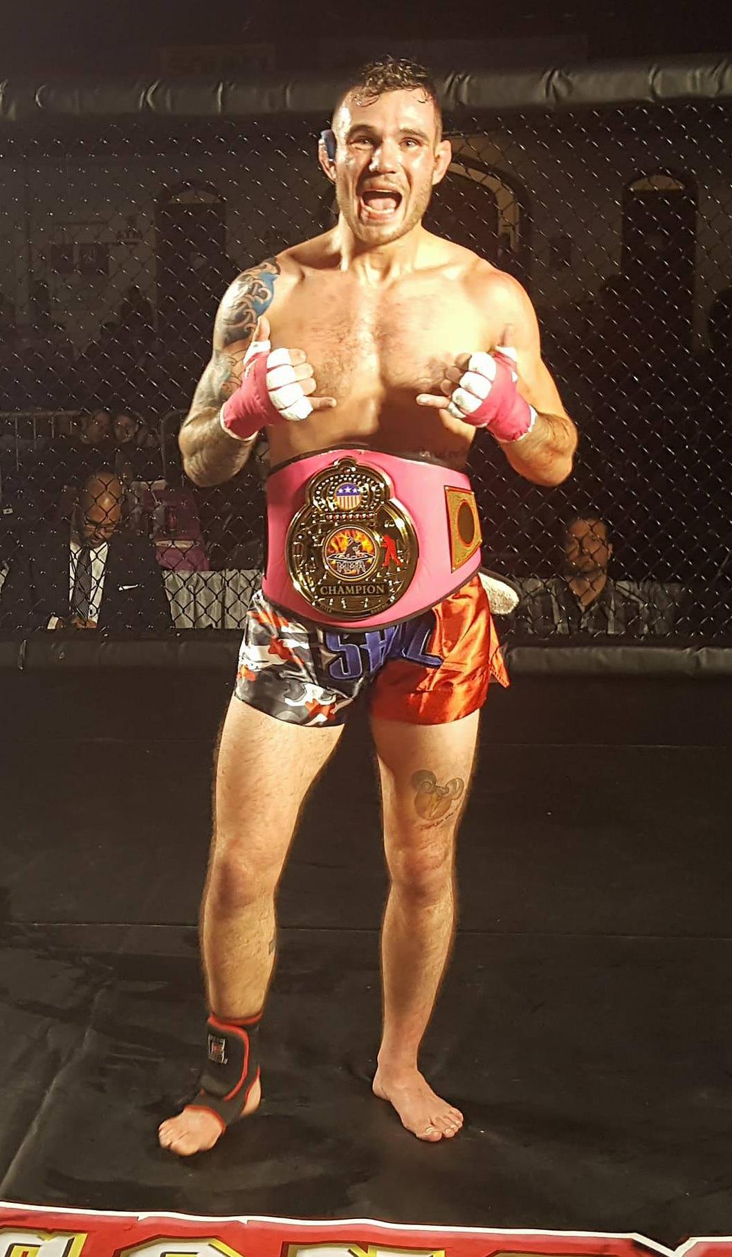 Michael Shul - Bantamweight K1 Champion - WNYMMA
