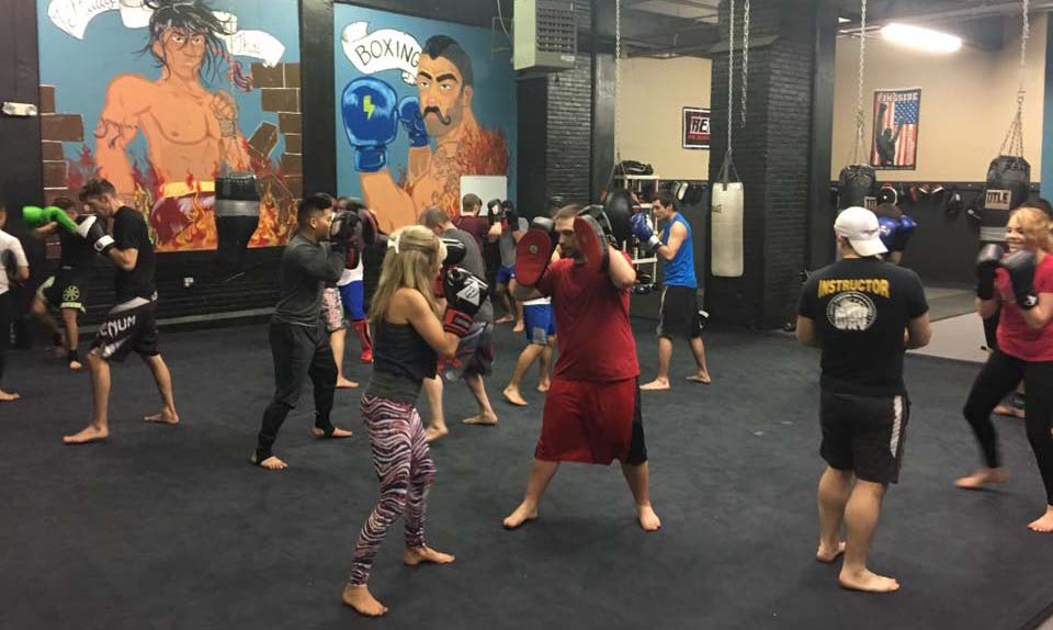 Kickboxing Class with Corey Webster