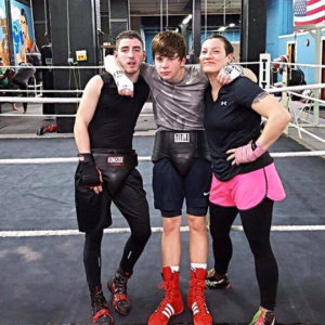 WNY MMA Boxers - Alex Castellano, Griffin Tolsma, Shauna Weidrick
