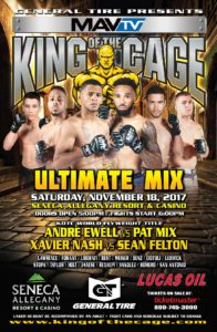 """Patchy """"No Love"""" Mix, Sean """"Superfly"""" Felton - King of the Cage"""