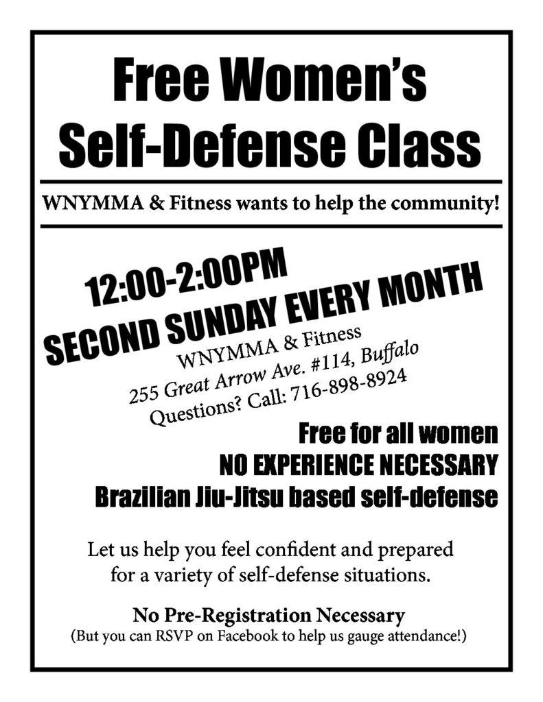 SELF-DEFENSE Flier