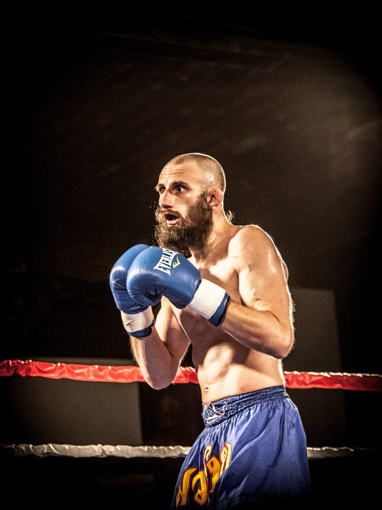 "Jeff ""Captain Caveman"" Denz - WNYMMA Professional Kickboxer"